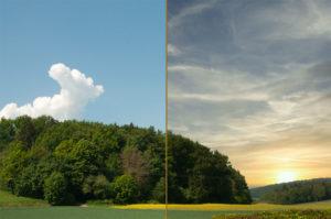 Den Himmel austauschen